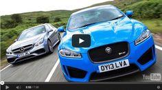 Jaguar XFR-S vs Mercedes E63 AMG 2014