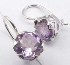 Silver Earrings With Pearls Code: 6452730050 Amethyst Gem, Purple Amethyst, Star Jewelry, Silver Stars, Toe Rings, Bar Necklace, Wholesale Jewelry, 925 Silver, Sterling Silver