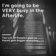 I'm going to be very busy!!