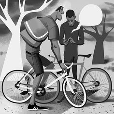 Fixie Illustrations by Thorsten Hasenkamm