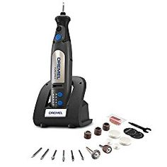 Dremel Cordless Power Scrubber Kit Versa 4V Rechargeable Cleaning Power Tool USB