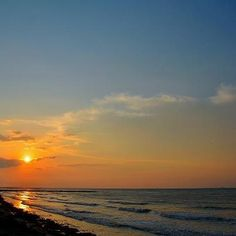 Sunrise on Galveston Beach - my beach...... where I live, work and love.