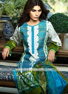 Sana Safinaz Eid Collection 2014 Catalogue 3B Print  Buy Online Sana Safinaz Eid Collection 2014 Catalogue 3B Print in San Jose, Santa Clara and Sacramento, USA (in Wholesale and Retail). by www.dressrepublic.com