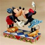 Smooch For My Sweetie-Mickey Kissing Minnie Figurine from Minnie - Jim Shore Store