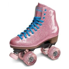 Stardust Pink Glitter Skates