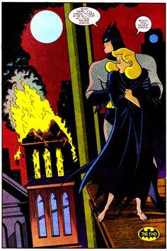 "Batman Adventures #21 (June 1994) ""House Of Dorian"" Art by Mike Parobeck & Rick Burchett Words by Kelley Puckett"