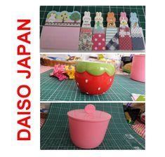 ARTE COM QUIANE - Paps,Moldes,E.V.A,Feltro,Costuras,Fofuchas 3D: Comprinhas na loja Daiso Japan em Campinas!! Vídeo novo pra você