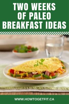 Have you been wanting to get started on a Paleo diet, but just don't really know how to begin?  There's a lot to learn, but you don't have to learn it all before beginning.  Since breakfast is the first meal of the day, then how about mastering Paleo breakfasts first? This video will show you 2 weeks worth of delicious and easy-to-make breakfast ideas to get you started. Paleo Breakfast Ideas - Week 1 Monday -- 3 Egg Omelette add vegetables of choice, fried in coconut oil Tuesday ...