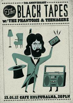 Talkseek Black Tapes poster