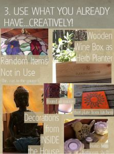 Or better yet, #repurpose anything you have! ow.ly/c9bWV Unused items can find their place outside