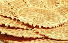 Pizelle - Italian wafer cookies