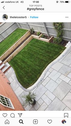 A lovely afternoon out in the garden yesterday. Luke managed to mow the lawn as it was dry enough and we got the mirror back out as we'd… Garden Steps, Garden Edging, Railway Sleepers Garden, Oak Sleepers, Natural Garden, Rustic Gardens, Garden Spaces, Back Gardens, Front Yard Landscaping