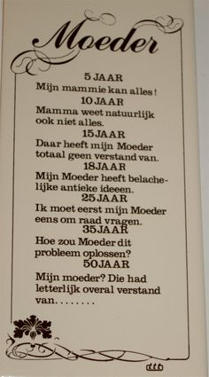 Geniaal!! Om aan je moeder te laten lezen I Love You Mama, Love My Kids, Sex And Love, Fun Words To Say, Cool Words, Wise Words, Dutch Quotes, Happy Mom, Word Families