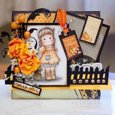 Halloween Tilda by Lori of Just Ducky