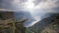 Trolltunga, Hardanger in Norway Photo: Jay Patel http://www.tripadvisor.co.uk/InfoCenter-a_ctr.amazingplaces