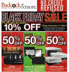 Badcock Home Furniture 2015 Black Friday Ad...check out the 16 page #BlackFriday ad.