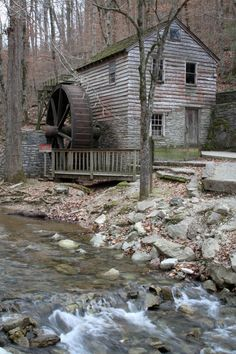Grist Mill at Norris TN.  I can see this.  Peaceful.