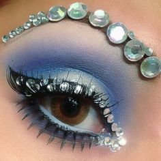 EYE BLING DESIGNS WITH GEMS - Google Search
