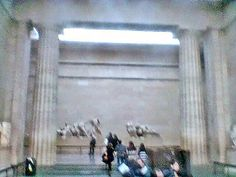 The Parthenon Marbles in the British Museum. Elgin Marbles, Parthenon, British Museum, Painting, Home Decor, Decoration Home, Room Decor, Painting Art, Paintings