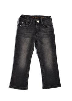 DL1961 Black Straight Leg Jeans