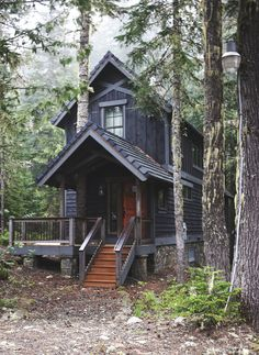 Cabin Porn, Government Camp, Mount Hood, Oregon.