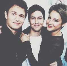 Tfios cast. Cannot wait for this movie!!