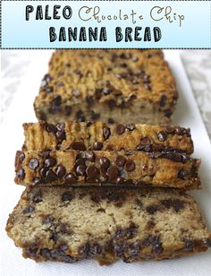 Paleo Banana Bread (Really yummy. Used maple syrup instead of honey, coconut/almond milk from carton. Try less maple syrup next time. Very soft texture. If making muffins, be sure to use liners or grease tin.)