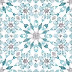 Add a splash of color and a global flair to your floors with these peel and stick tiles. Its aqua, grey and teal kaleidoscope design looks hand painted. Radiance Peel & Stick Floor Tiles contains 10 pieces on 10 sheets that measure 12 x 12 inches. Peel And Stick Floor, Peel And Stick Vinyl, Self Adhesive Floor Tiles, Room Tiles Design, Imagen Natural, Vinyl Tile Flooring, Cement Floors, Porch Flooring, Vinyl Style
