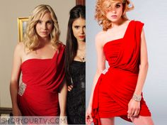The Vampire Diaries: Season 2 Episode 7 Caroline's Red Masquerade ...