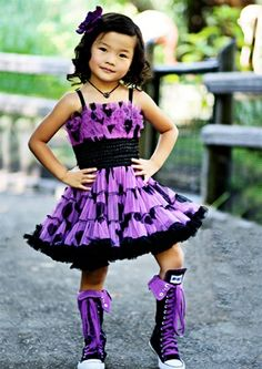 Purple Dress - I want those shoes!