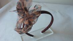 Stirnband mit Schleife dreifache Gaze.  von Corazones de Colores auf DaWanda.com