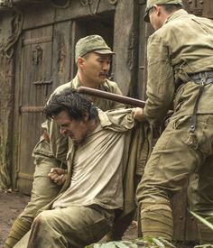 Louis was held captive as in Japanese POW camps. #UnbrokenMovie
