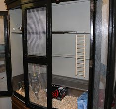 Way back in 2009, I blogged about wanting to turn an armoire into a rat cage . Well, 3 years later, we've finally gone and done it! ...