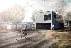 Autor: Absolvent Superprezentace. Martin Zítek.  Projekt: Rodinný Dům nad Barrandovem LS2015