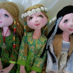 Cloth Doll Patterns | Lynne's Dolls | Paradise for makers and collectors of unique, hand-made dolls