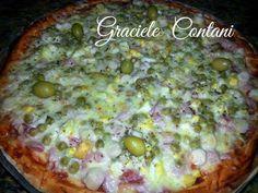 Pizza Portuguesa, de Graciele Contani - Espaço das delícias culinárias