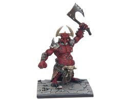Dungeon Saga: The Dwarf King's Quest by Mantic Games — painted Moloch miniature