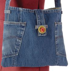 Watch Indygo Junction's Recycled Denim Jeans video to see inspirational ideas for upcycling denim!