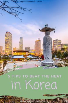 Here are our suggestions to beat the heat during those sweaty Korean summers. Bonus: most of these work for other countries! China Travel, Japan Travel, Best Places To Travel, Cool Places To Visit, Travel Guides, Travel Tips, Travel Hacks, Budget Travel, Korean Summer