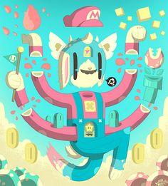 FANART(tm)   Illustrator: Daniel Bressett - http://clearlywrong.tumblr.com