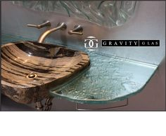 Take a look at our gravity glass – available in stunning designs, durable thick glass and a variety of texture and colour possibilities. Glass Countertops, Custom Glass, Aqua Blue, Backsplash, Colour, Texture, Design, Home Decor, Color