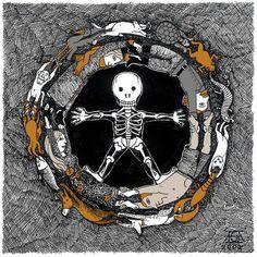 esquelets Football Helmets, Spaces, Halloween, Journals, Spooky Halloween