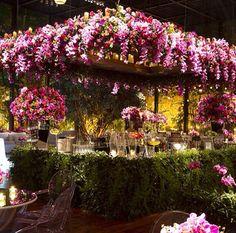 Bar florido por Laís Aguiar