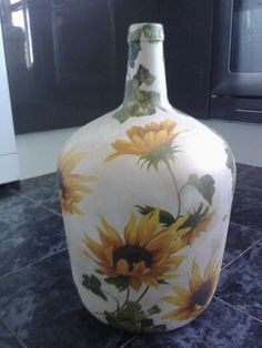 garrafas pintadas a mano - Pesquisa Google