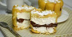 Tortine fredde pavesini mascarpone e nutella molto golose e perfette se avete ospiti apranzo o a cena perche' potrete offrire una…