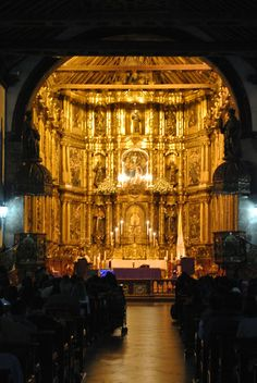 Gold Cathedral - Bogotá D. Colombia South America, South America Travel, Places Around The World, Around The Worlds, Colombia Travel, Church Architecture, Cathedral Church, Destinations, Place Of Worship