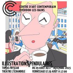Card for my Exhibition in Yverdon-Les-Bains A 17, Comic Books, Comics, Memes, Illustration, Cards, Instagram, Contemporary Art, Animal Jokes