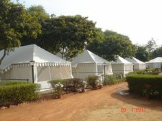 Iam sure this will awaken the Camper in us all. What a perfect Holiday Camp ! by Sangeeta International