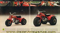 1975 Honda ATC 90 K3 & ATC 70 K1 Three-Wheelers Brochure