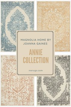 HIGHLIGHT: The Annie Collection from Magnolia Home by Joanna Gaines is among the newest at NW Rugs & Furniture! Check it out now! #magnoliahome #farmhouse #hgtv #magnoliamarket Magnolia Home Rugs, Magnolia Market, Magnolia Homes, Farmhouse Chic, Joanna Gaines, Hgtv, Annie, Highlight, Frame